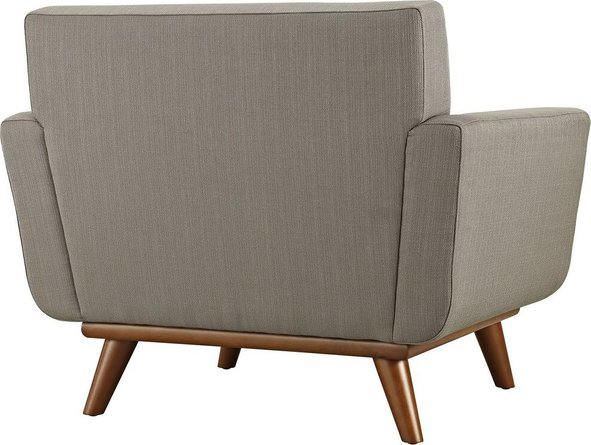 Engage Upholstered Fabric Armchair Granite