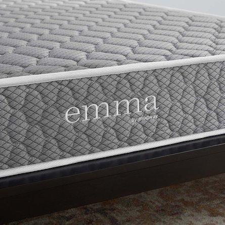 "Emma 10"" King Mattress Gray"