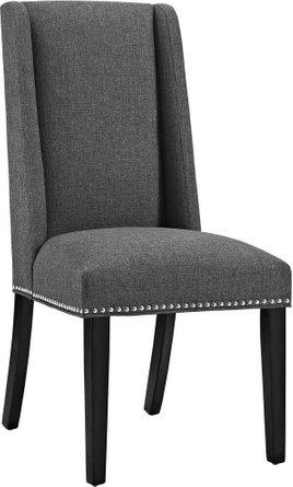 Baron Fabric Dining Chair Gray
