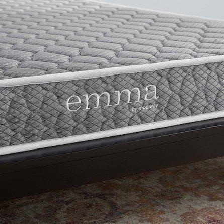 "Emma 6"" Full Mattress Gray"
