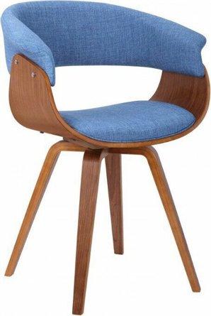 Josephine Mid-Century Chair Blue