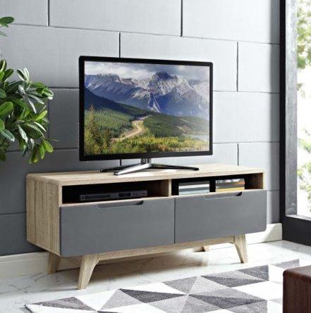 "Origin 47"" TV Stand Natural & Gray"