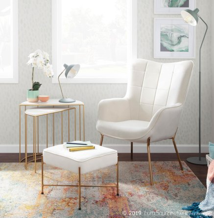 Darby Floor Lamp Sage Green