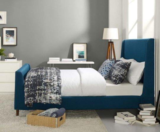 Aubree Queen Bed Azure