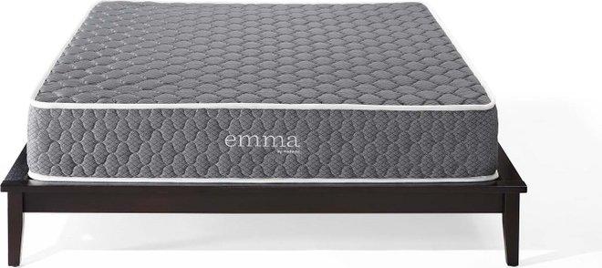 """Emma 10"""" Queen Mattress White"""