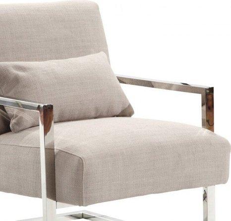 Rafael Skyline Modern Accent Chair Gray
