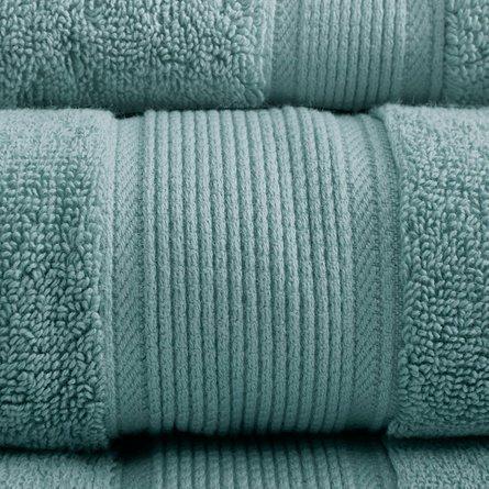 800GSM 8-Piece Towel Set Dusty Green