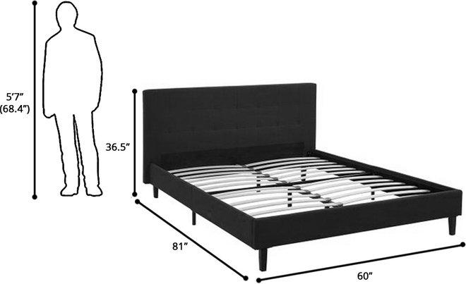 Linnea Full Bed Azure