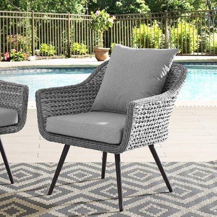 Endeavor Outdoor Armchair Gray