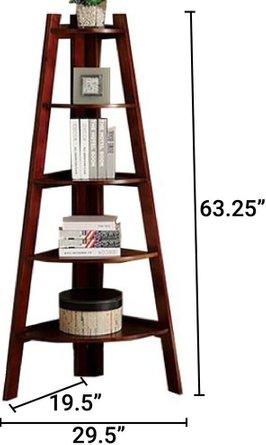 Lyss Ladder Shelf Cherry