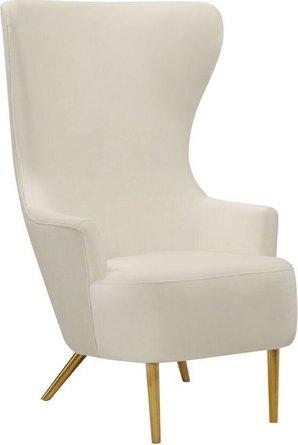 Julia Wingback Chair Cream