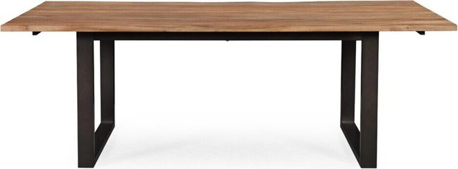 Carter Dining Table Rustic Elm