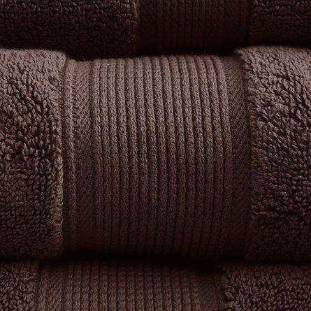 800GSM 8-Piece Towel Set Brown