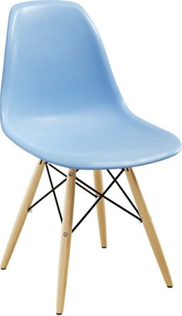 Pyramid Dining Chair Light Blue