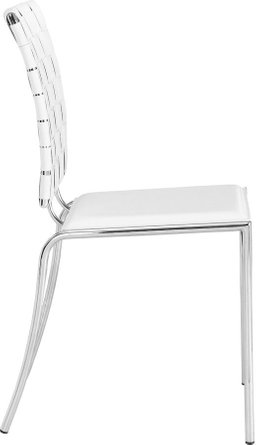 Criss Cross Dining Chair White (Set of 4)