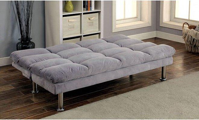 Saratoga Futon Sofa Gray