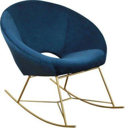 Nolan Rocking Chair Navy