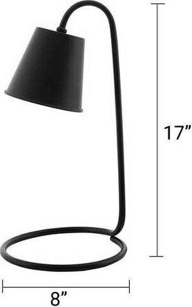 Proclaim Metal Table Lamp Black