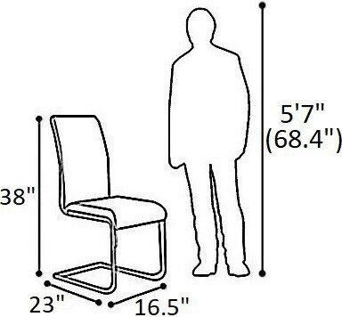 Cancer Side Chair Black (Set of 2)