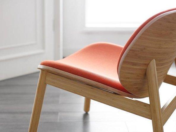 Danica Lounge Chair Wheat-Red