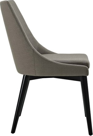 Viscount Fabric Dining Chair Granite