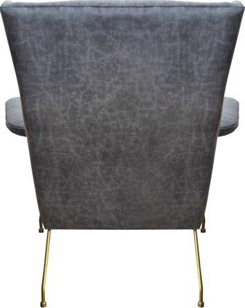 Evian Arm Chair Vintage Midnight & Gold