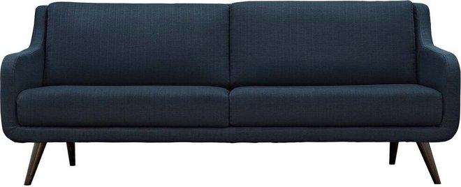 Verve Upholstered Fabric Sofa Azure