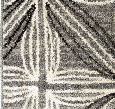 Daisy Contemporary (5'X8' )Area Rug In Gray/Cream