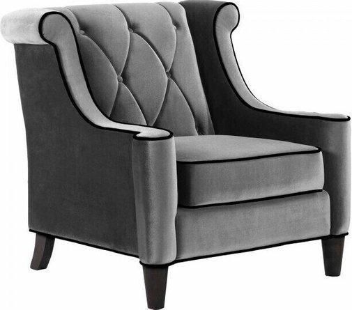 Heathdale Barrister Chair Gray