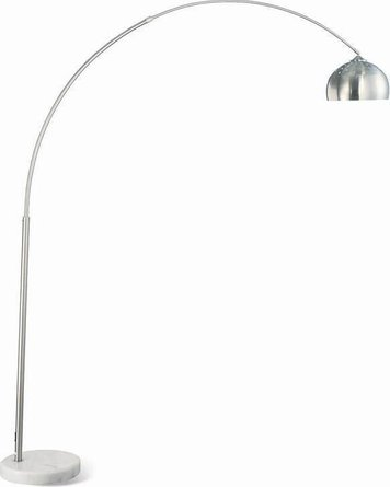 Arched Floor Lamp Chrome